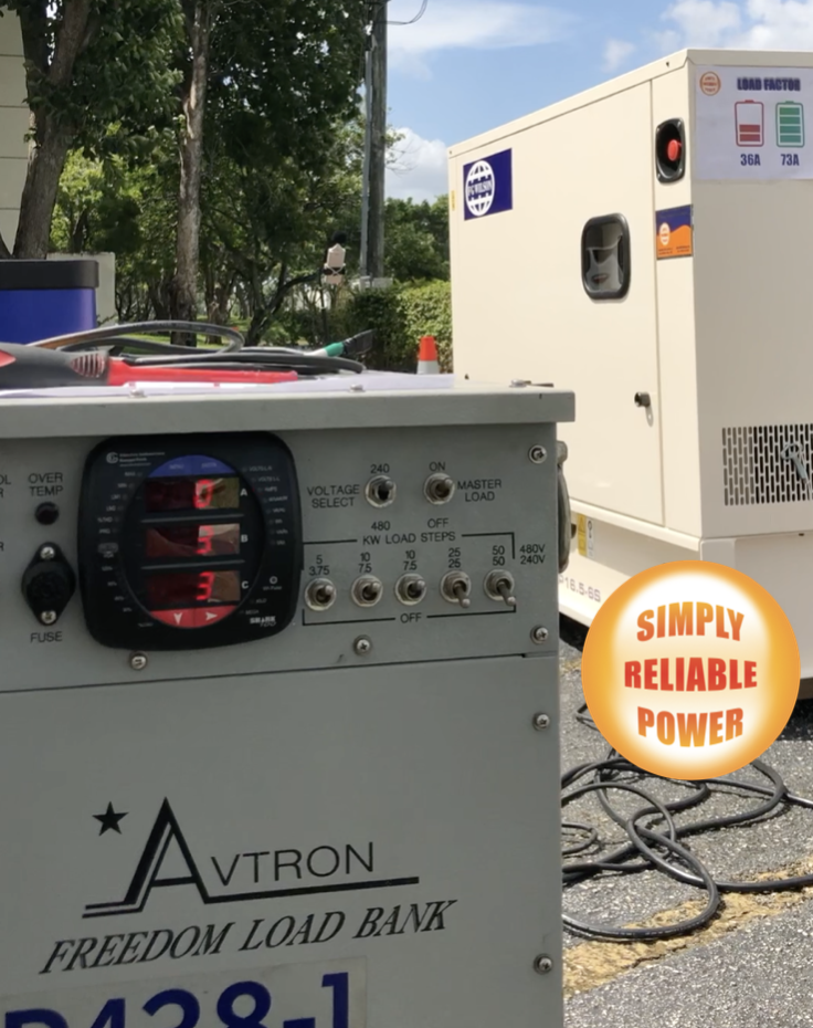 Avtron Load Bank for Generator sets