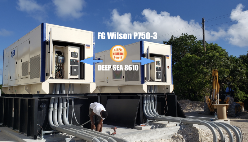 FG Wilson Generators and Deep Sea panels