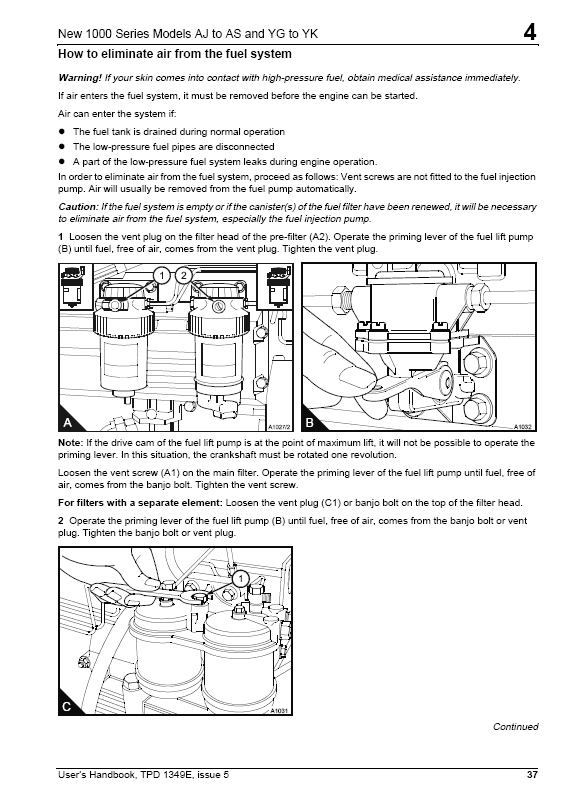 perkins 400 series service manual